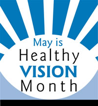 May is Vision Health Month - 20/20 Eyeglass